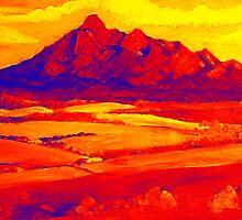 Mt Barney Red.. by Virginia McGowan