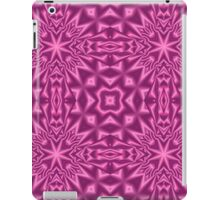 Purple modern abstract pattern iPad Case/Skin