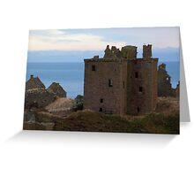 Dunottar Castle Greeting Card