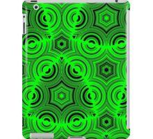 Green Ugly Pattern iPad Case/Skin