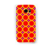 Colorful modern circle pattern Samsung Galaxy Case/Skin