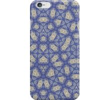 Blue Abstract Trendy Pattern iPhone Case/Skin