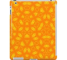 Yellow Orange abstract pattern iPad Case/Skin