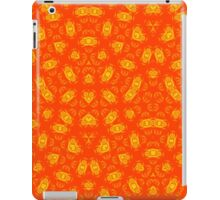 Red Yellow abstract pattern iPad Case/Skin