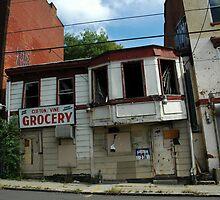 Inner City Abandoned Mom & Pop by Ainsley Kellar Creations