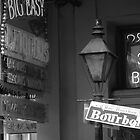 Bourbon Street New Orleans by Amanda Yetman