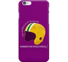 Where's My Pogo Stick? iPhone Case/Skin