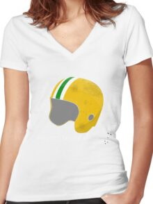 Where's My Pogo Stick? Women's Fitted V-Neck T-Shirt