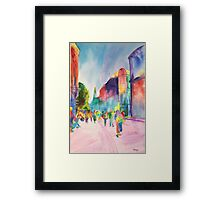Copenhagen Light Framed Print