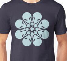 Alien / flower mandala Unisex T-Shirt