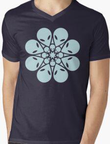 Alien / flower mandala Mens V-Neck T-Shirt