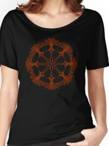 Hearthearth Tree Mandala Women's Relaxed Fit T-Shirt