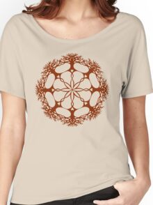 Hearthearth Tree Mandala Women's Relaxed Fit T-Shirt