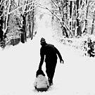 Snow fun by Debbie Ashe