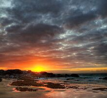Sunset Over St Ives by Paul Thompson Photography