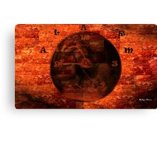 Wake Up To Reality!!!  Art + Products Design  Canvas Print