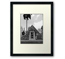 Memorial Colon Cemetery, Cuba Framed Print