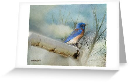 Little Blue Bird by Rhonda Strickland