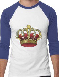 KING & QUEEN FOR A DAY Men's Baseball ¾ T-Shirt