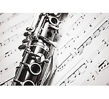 Monochrome Music Photographic Print