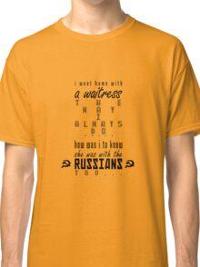 Lawyers, Guns & Money Classic T-Shirt