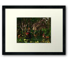 Deeping Bosk - Jemma's Apples Framed Print