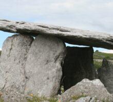 Poulnabrone dolmen, Celtic Ireland Sticker