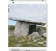 Poulnabrone dolmen, Celtic Ireland iPad Case/Skin