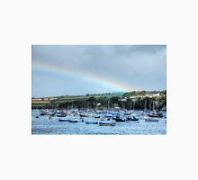 Rainbow Over Falmouth Harbour Unisex T-Shirt