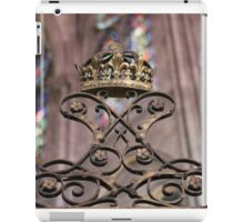 Crown of Gold, Notre Dame: Paris iPad Case/Skin