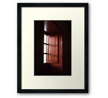 spanish light Framed Print