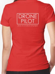 Drone Pilot - professional  Women's Fitted V-Neck T-Shirt