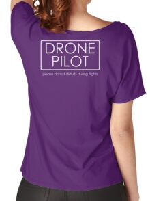 Drone Pilot - professional  Women's Relaxed Fit T-Shirt