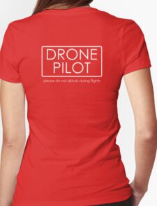 Drone Pilot - professional  Womens Fitted T-Shirt
