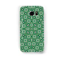 Green Modern Abstract Pattern Samsung Galaxy Case/Skin