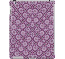 Purple trendy abstract pattern iPad Case/Skin