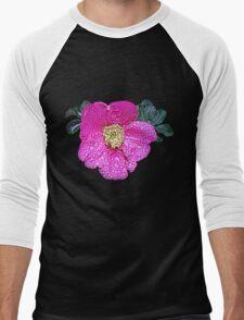 Pink flower under the rain T-Shirt