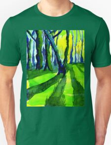 Sunrise in the Woods, Derbyshire T-Shirt