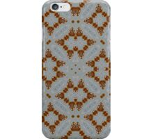 Modern abstract trendy pattern iPhone Case/Skin