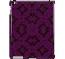 Dark purple abstract pattern iPad Case/Skin