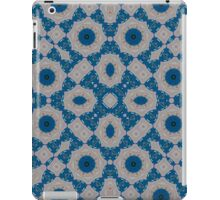 Blue Abstract Pattern iPad Case/Skin