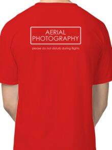 Aerial Photography - professional Classic T-Shirt