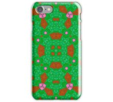 Multicolored trendy abstract pattern iPhone Case/Skin