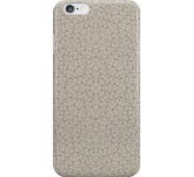 Grey Modern Abstract Pattern  iPhone Case/Skin