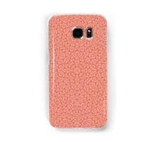Abstract Pattern light red Samsung Galaxy Case/Skin