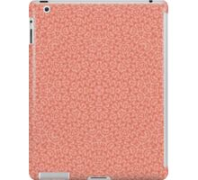 Abstract Pattern light red iPad Case/Skin