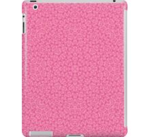 Pink Trendy Abstract Pattern iPad Case/Skin