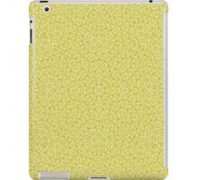 yellow Trendy Abstract Pattern  iPad Case/Skin