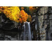New York's Taughannock falls VII Photographic Print