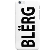 """""""BLERG"""" Liz Lemon. iPhone Case/Skin"""